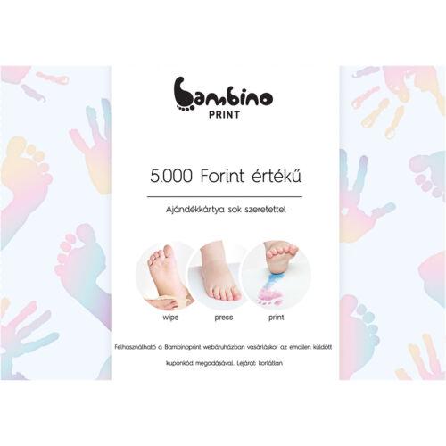 Ajándékkártya - 5000 forint
