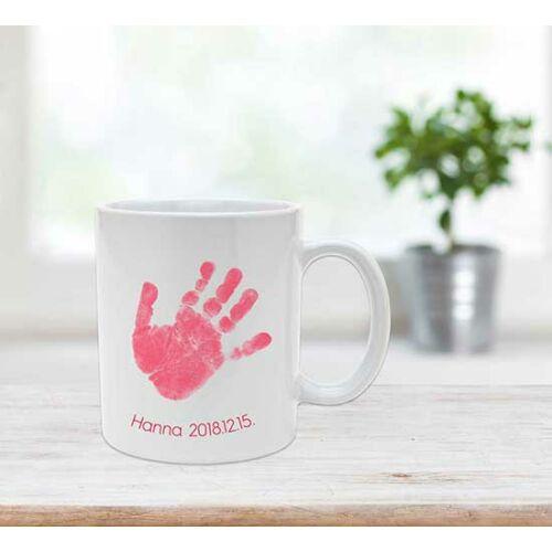 Kerámia bögre - piros / Ceramic mug - red