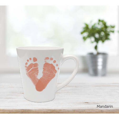 Közepes latte bögre - mandarin / Latte mug - Mandarin