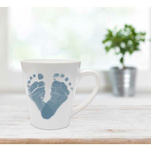 Közepes latte bögre - mélykék / Latte mug - Deep blue