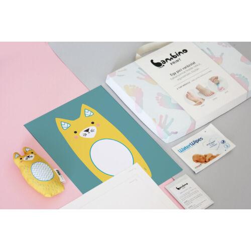 Bambinoprint készlet / Lujzi, a cica