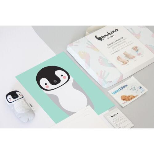Bambinoprint készlet / Benedek, a pingvin