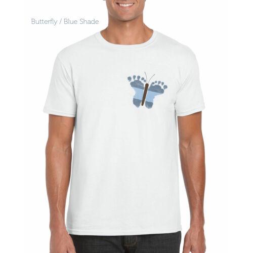 Férfi fehér színű póló - Pillangós