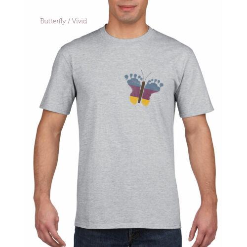 Férfi póló - Pillangós / Vivid