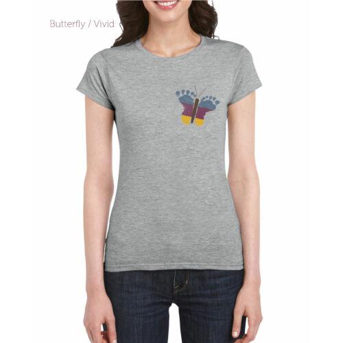 Női top  szürke - Pillangós Vivid