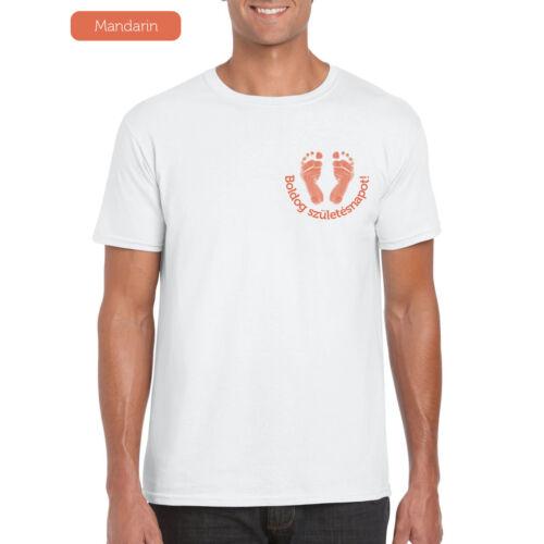 Férfi póló - Talpnyomos mandarin