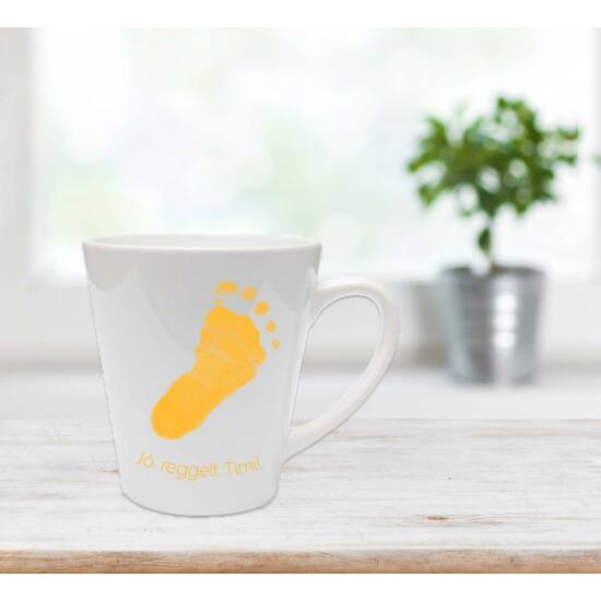 Közepes latte bögre - napsárga / Latte mug - Sunflower