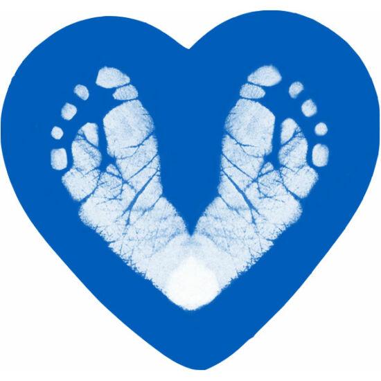 Szívmágnes - égkék / Heart magnet - Sky blue